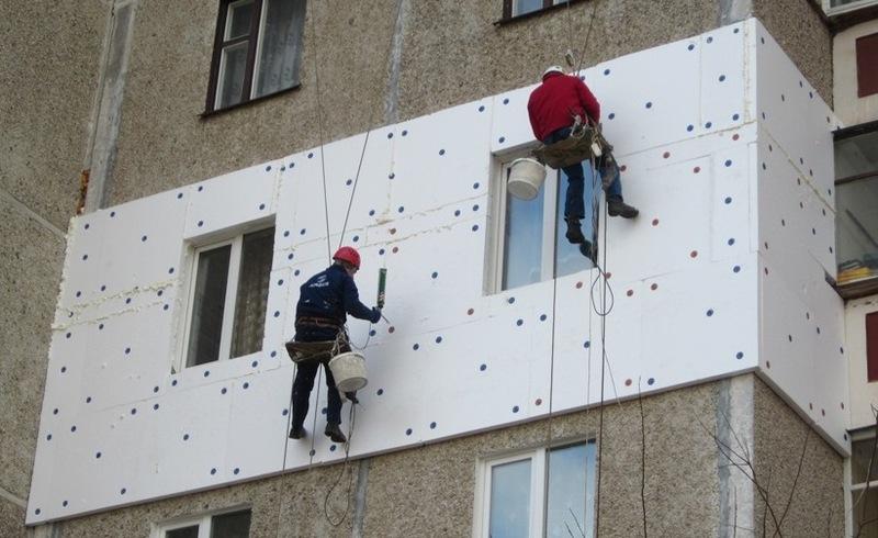 Утепление стен Харьков